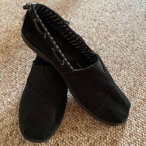 Bob's from Sketchers Memory Foam black loafers